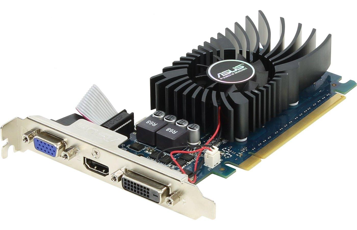 Видеокарта Asus PCI-E GT730-2GD5-BRK nVidia GeForce GT 730 2048Mb 64bit Ret low profile