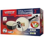 Фото Набор посуды  VITESSE VS-2901 Набор посуды 4 пр алюм