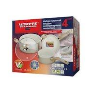 Фото Набор посуды  VITESSE VS-2218 Набор посуды 4 пр алюм