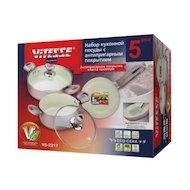Фото Набор посуды  VITESSE VS-2217 Набор посуды 5 пр алюм