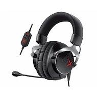 Наушники с микрофоном проводные Creative Sound BlasterX H5 черный/серебристый (1.2м) мониторы (оголовье)