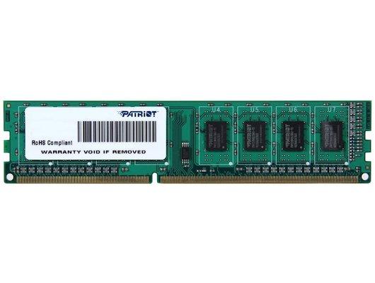 Оперативная память Patriot PSD34G160081 RTL PC3-12800 DDR3 4Gb 1600MHz CL11