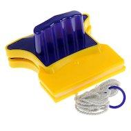 Фото Инвентарь для уборки VETTA 444-292 Окномойка магнитная для стекла 3-7мм. пластик 11х11см