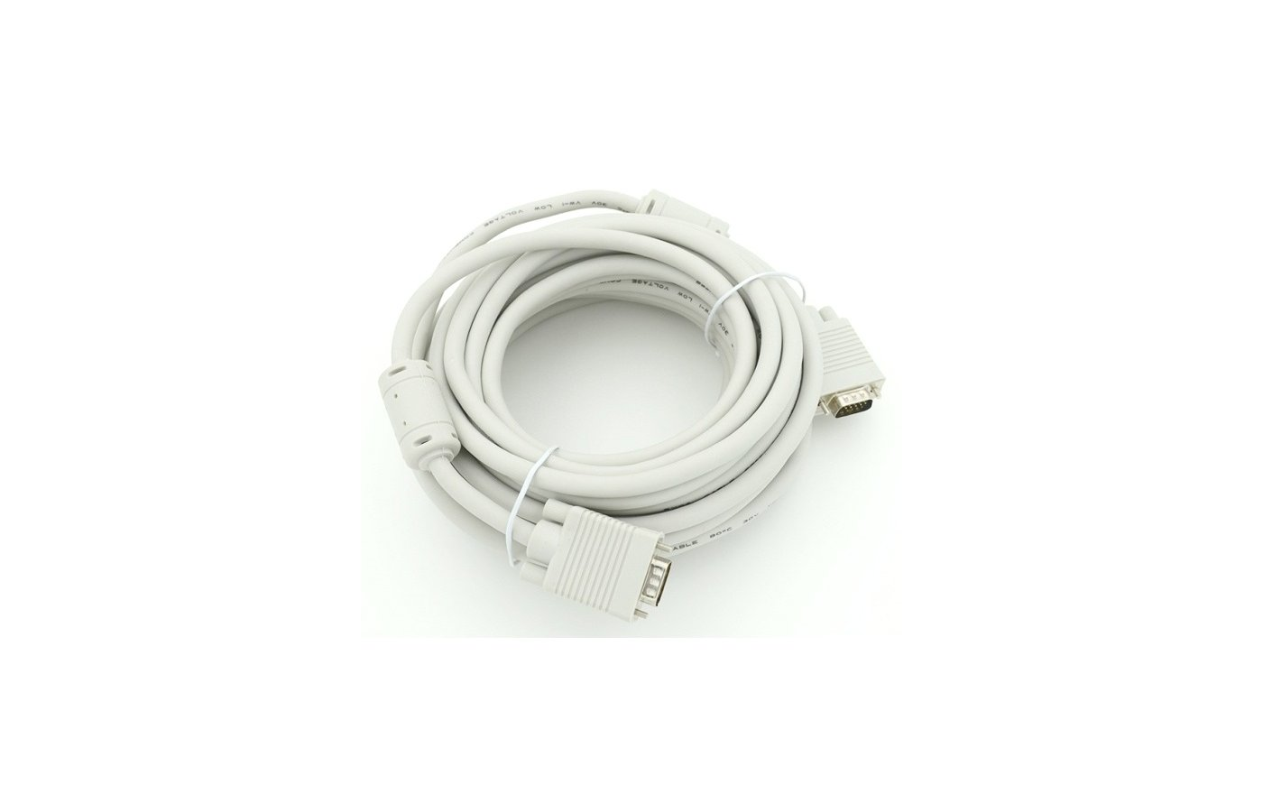 Видео кабель Кабель VGA(m) - VGA(m) 2 filters 10м (675562)