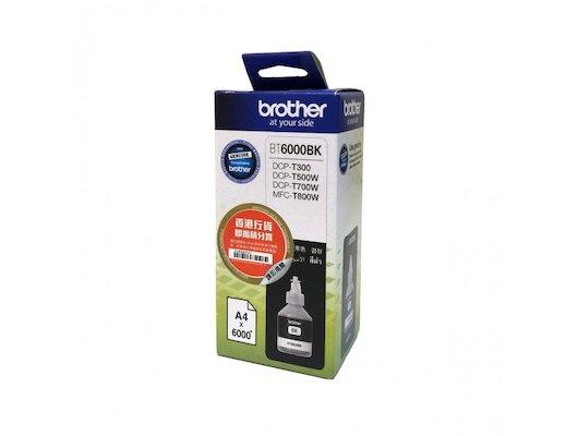 Картридж струйный Brother BT6000BK черный (6000стр.)
