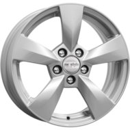 Диск K&K KC700 Rapid NH 6x15/5x100 D57.1 ET38 Сильвер