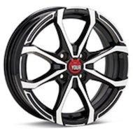 Диск Ё-wheels E17 6x15/4x100 D54.1 ET48 BKF