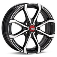 Диск Ё-wheels E17 6x15/4x98 D58.6 ET38 BKF