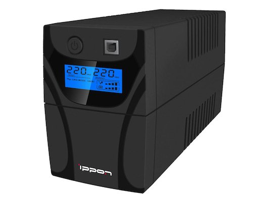 Блок питания Ippon Back Power Pro LCD 600 360Вт 600ВА черный