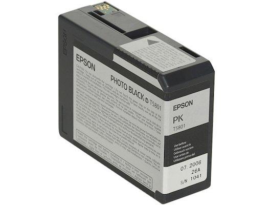 Картридж струйный Epson C13T580100 черный для Stylus Pro 3800