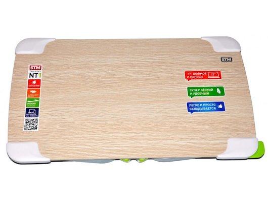 Подставка для ноутбука STM Laptop Table NT1 Wood/White