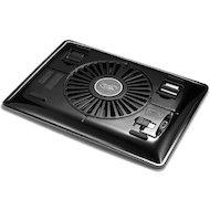 Фото Подставка для ноутбука Deepcool N1 BLACK (до 156 cупертонкий 2.6см 180мм вентилятор черный)