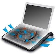 """Фото Подставка для ноутбука Deepcool N280 15.6"""" 340x310x54mm 21dB 1xUSB 530g Black"""