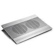 "Фото Подставка для ноутбука Deepcool N8 17"" 380x278x55mm 25dB 4xUSB 1244g Silver aluminum"