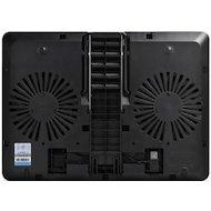 """Фото Подставка для ноутбука Deepcool U PAL 15.6"""" 390x280x28mm 26dB 1xUSB3.0 765g Black"""