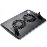 "Фото Подставка для ноутбука Deepcool WIND PAL 17"" 382x262x24mm 22-27dB 4xUSB 793g Fan-control Black"