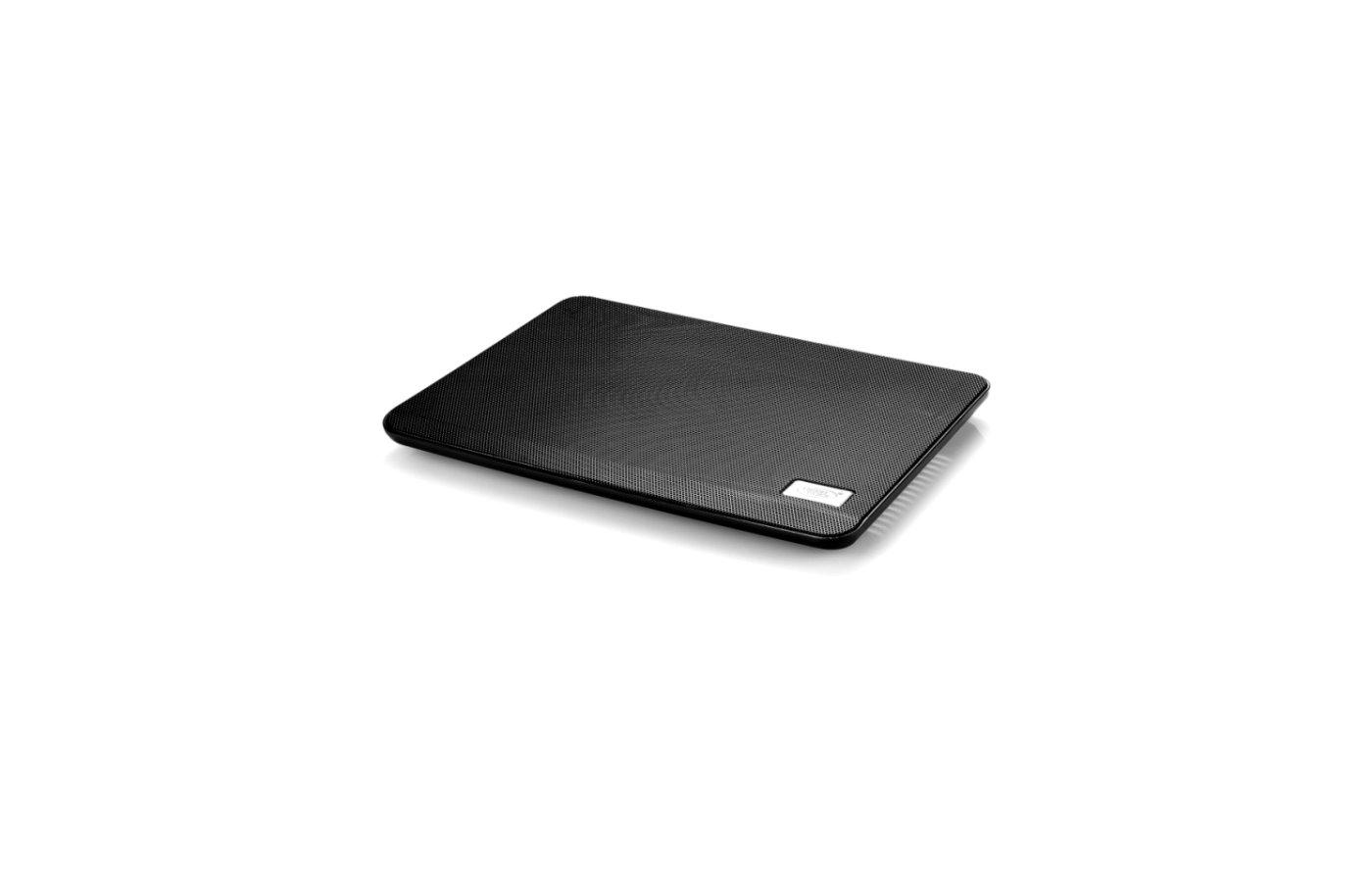 """Подставка для ноутбука Deepcool N17 BLACK 14"""" 330x250x25mm 21dB 1xUSB 465g Black"""