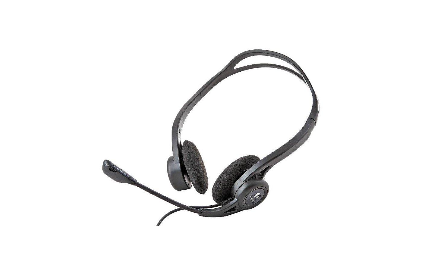 Наушники с микрофоном проводные Logitech PC 960 Stereo