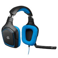 Фото Игровые наушники проводные Logitech Headset G430 Gaming /LOG-981-000537/