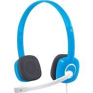 Наушники с микрофоном проводные Logitech H150 Stereo Sky blue