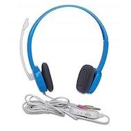 Фото Наушники с микрофоном проводные Logitech H150 Stereo Sky blue