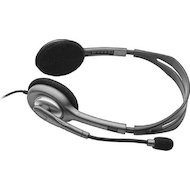 Фото Наушники с микрофоном проводные Logitech Headset H111 Stereo (981-000593)