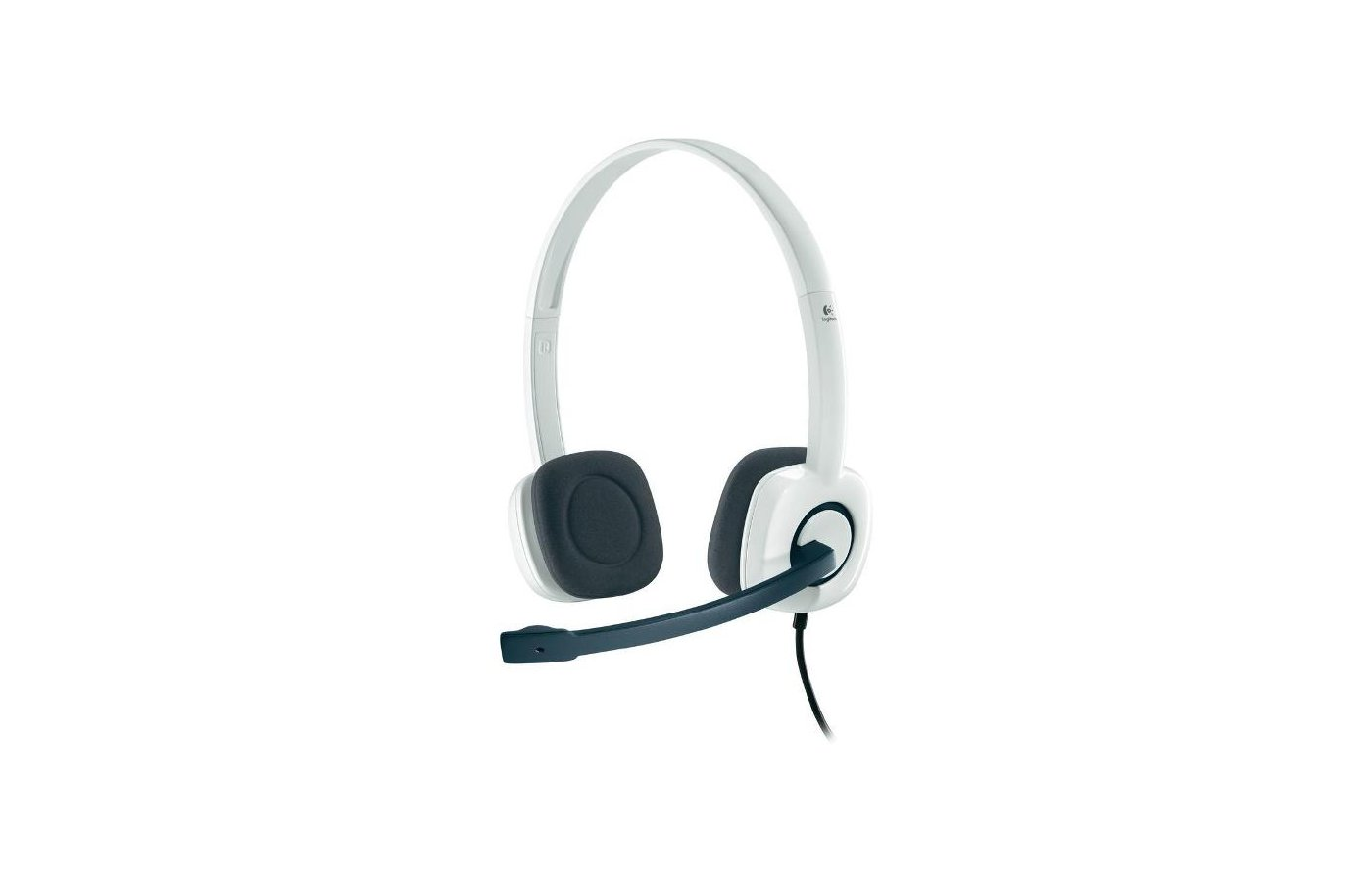 Наушники с микрофоном проводные Logitech H150 Stereo Coconut