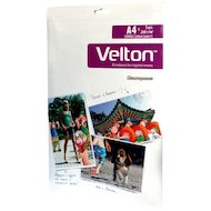 Фото Фотобумага Velton A4 5л 260г холст Canvas Cotton