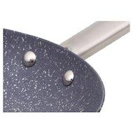 Фото Сковорода LEONORD LEO-22 Чугунная эмалированная с мрам антипр покр. диам 22см ручка: нерж.сталь 985095