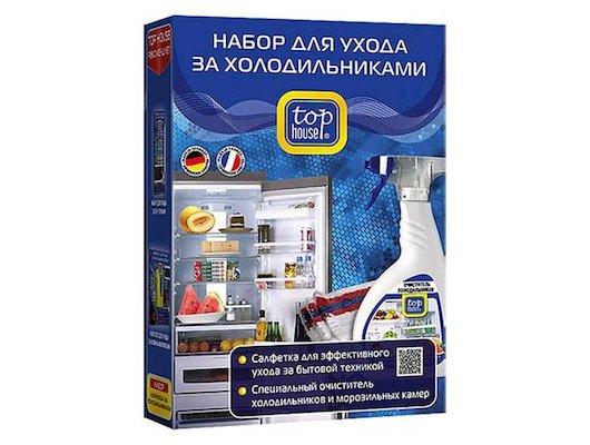 Аксессуар к холодильникам ТОП ХАУС Набор д/ухода за холодильниками 2пр. 390513