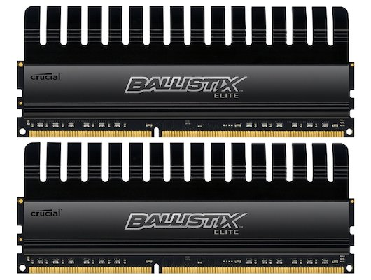 Оперативная память Crucial BLE2CP4G3D1869DE1TX0CEU RTL PC3-14900 DDR3 2x4Gb 1866MHz CL9