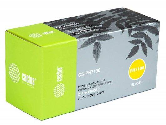 Картридж лазерный Cactus CS-PH7100 (106R02612) совместимый черный для Xerox Phaser 7100/7100N/7100DN (5000стр.)
