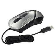 Мышь проводная Asus GX-1000 черный/серебристый лазерная (8200dpi) USB игровая (6but)