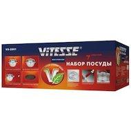 Фото Набор посуды  VITESSE VS-2001 Набор посуды 7 пр н/ст