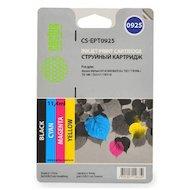 Фото Картридж струйный Cactus CS-EPT0925 черный/голубой/пурпурный/желтый набор карт. для Epson Stylus C91/CX4300/T26/T27/TX