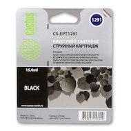 Картридж струйный Cactus CS-EPT1291 черный для Epson Stylus Office B42/BX305/BX305F/BX320/BX525/BX625/SX420/SX425/SX52