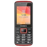 Мобильный телефон TeXet TM-214 черный-красный
