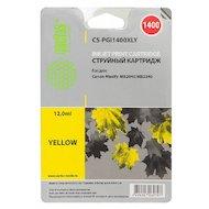 Фото Картридж струйный Cactus CS-PGI1400XLY желтый для Canon MB2050/MB2350/MB2040/MB2340 (11.5мл)