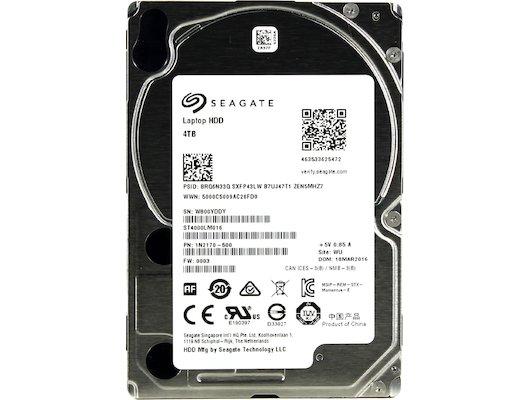 Жесткий диск Seagate SATA-II 4Tb ST4000LM016 Momentus (5400rpm) 128Mb 2.5