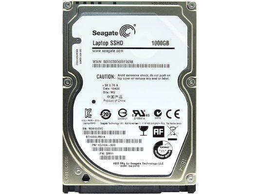 Жесткий диск Seagate SATA-III 1Tb ST1000LM014 Laptop SSHD (5400rpm) 64Mb 2.5