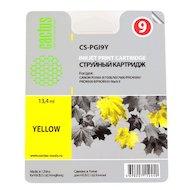 Картридж струйный Cactus CS-PGI9Y желтый для Canon Pixma PRO9000 MarkII/PRO9500 (13.4мл)