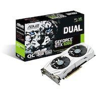 Фото Видеокарта Asus PCI-E DUAL-GTX1060-O6G nVidia GeForce GTX 1060 6144Mb 192bit Ret
