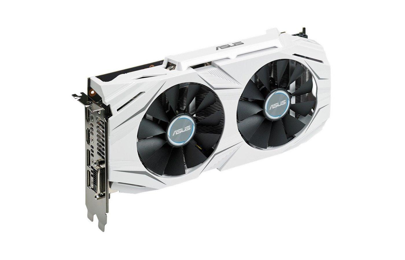 Видеокарта Asus PCI-E DUAL-GTX1060-O6G nVidia GeForce GTX 1060 6144Mb 192bit Ret
