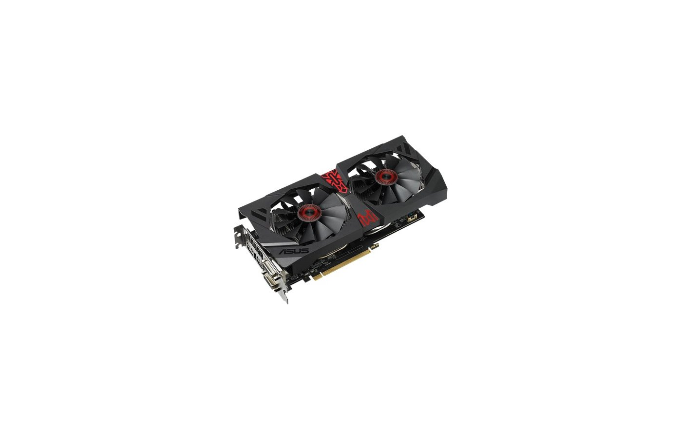 Видеокарта Asus Strix R9380-DC2-2GD5-GAMING RTL