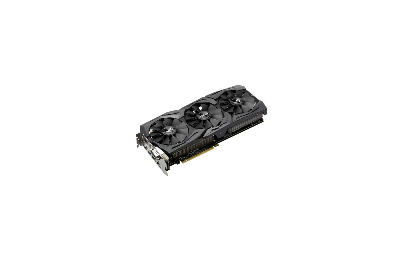 Видеокарта Asus PCI-E STRIX-GTX1070-O8G-GAMING nVidia GeForce GTX 1070 8192Mb 256bit Ret