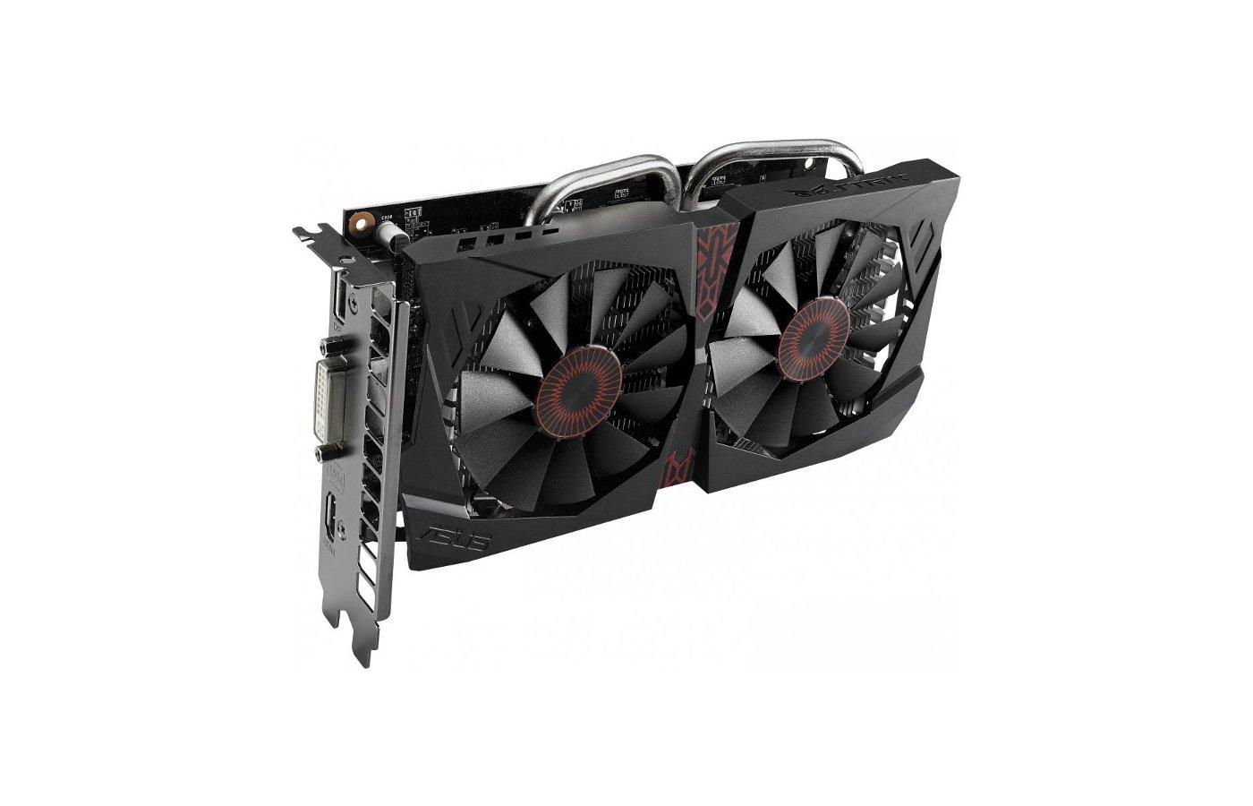Видеокарта Asus PCI-E STRIX-GTX750TI-OC-2GD5 nVidia GeForce GTX 750Ti 2048Mb 128bit Ret