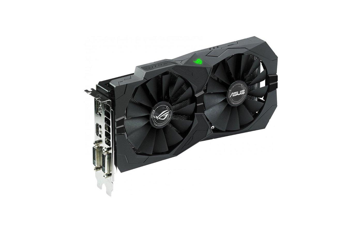 Видеокарта Asus PCI-E STRIX-RX470-O4G-GAMING AMD Radeon RX 470 4096Mb 256bit Ret