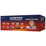 Фото Набор посуды  VITESSE VS-1003 23 пр н/ст