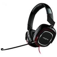 Наушники с микрофоном проводные Creative HS 880 Draco черный/красный (2.5м) мониторы (оголовье)