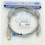 Фото USB Кабель Кабель USB 2.0 PRO A(m) - B(m) феррит. фильт. 1.8м (58514)